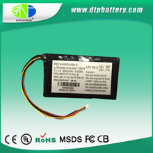 11.1V 800mAh wholesales on USA with customized terminal rechargeable battery