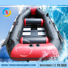 Guangzhou supply high quality River rafting rowing the best inflatable boats dinghy boats with 10 years