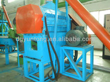 2013 newest design waste tyres recycling rubber shredder using for sport venues/asphalt road/tyres mat
