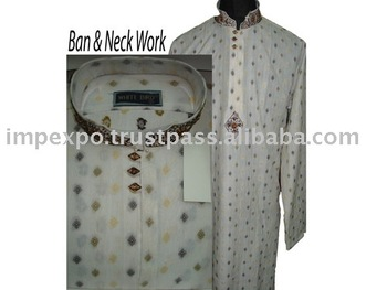 Men's Shalwar Kameez Suit (Pure Cotton) (Item No. Impexpokurta204)