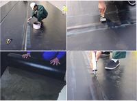 1.5mm thickness Best Price Epdm Waterproof Membrane