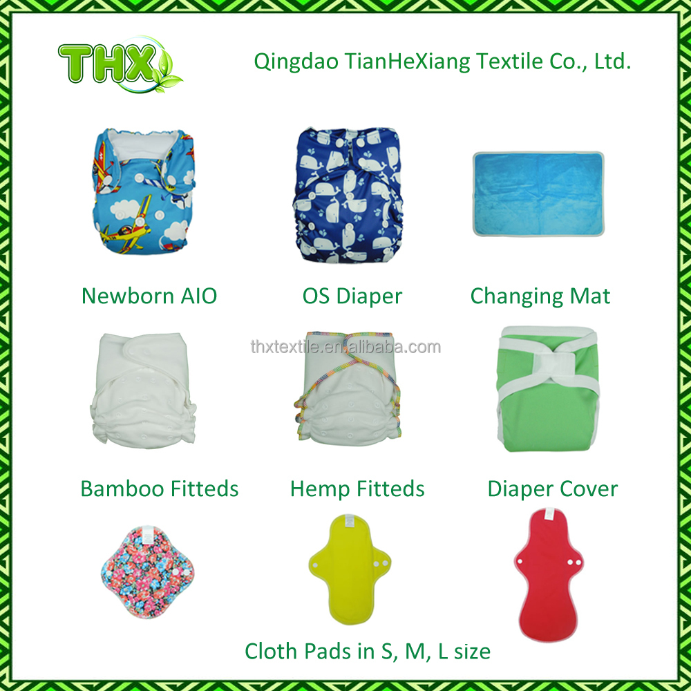2015 Reusable and Washable Eco-friendly THX Diaper