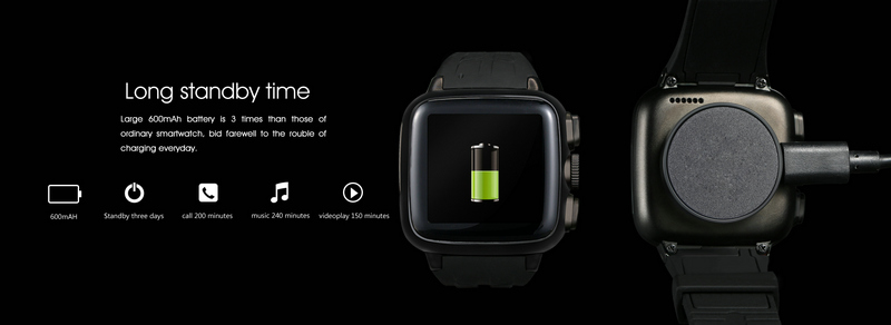 Light weight mobile cell phone 3g smart watch in promotion