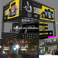 Double Deck Stand Aluminum Truss Exhibition Booth for Bodybuilding