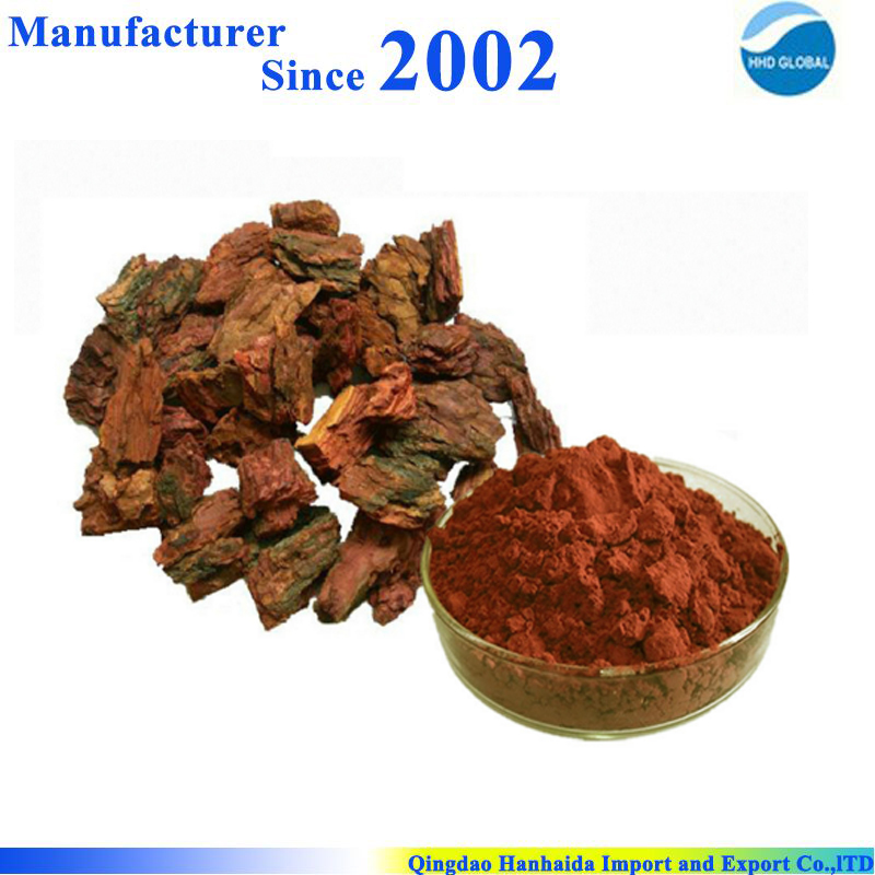 Factory supply high quality 100% Pure and Organic Pine Bark Extract