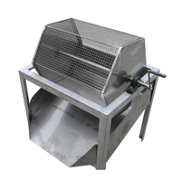 Easy operation quail egg breaking sheller peeling machine