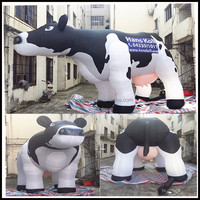 NB-CT3019 Hot sale giant inflatable cow for advertising