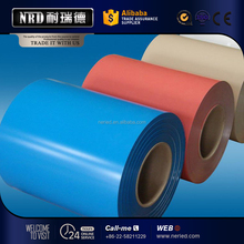 Prepainted color coated aluminum sheet metal coil / aluminum sheet metal