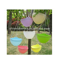 Designed Small Plastic Parts injection moulding colorful outdoor plastic flower pots