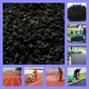 Black SBR Rubber Crumb, Recycled SBR Rubber Granule, Price Of Crumb Rubber-FN-A-16042601