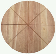 High Quality Round Bamboo wooden Pizza Cutting Board