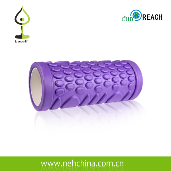 Black High Density Foam Roller,Rubber Foam Roller,Yoga Foam Roller
