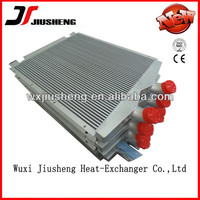 custom made aluminum radiator core for gas & oil