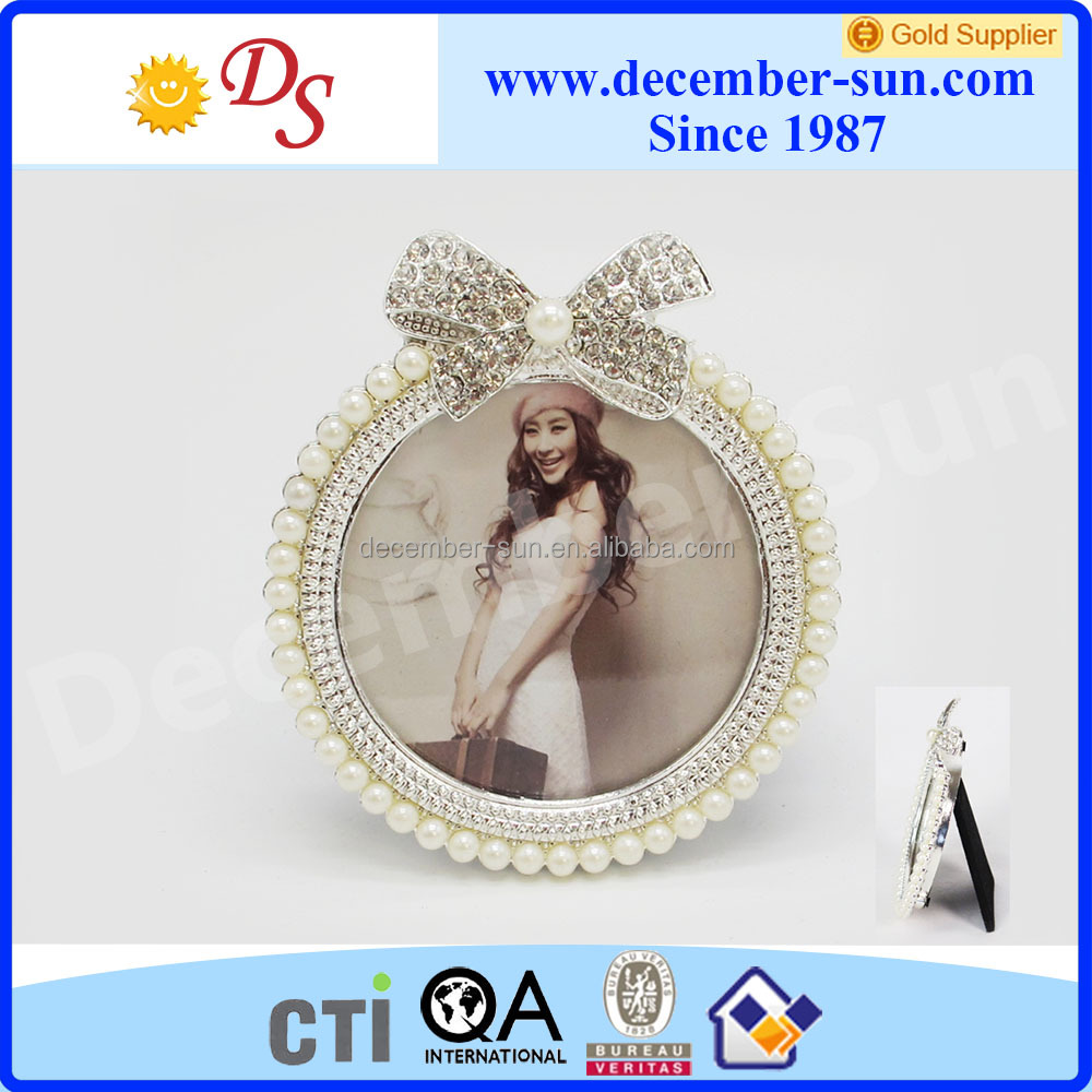 2x2 heart shaped metal photo picture frame pendant