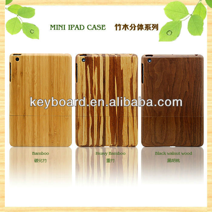 factory wholesale wooden case for ipad mini