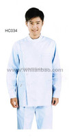 Short or long sleeve nursing working uniforms for men