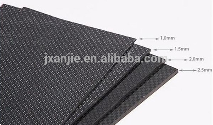 Professional Make-to-Order Carbon Fiber Veneers and plate board