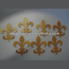 Hot new best selling product quality craft Gold Die Cuts Metallic Scrapbook weeding decor alibaba made in China