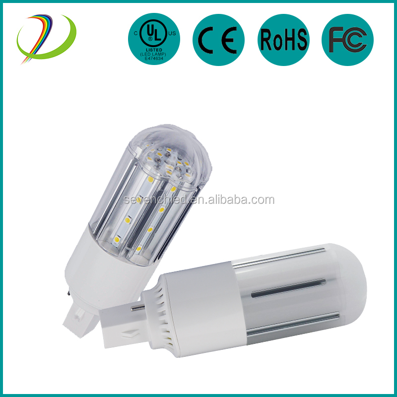 Dimmable led corn light 8w g24 led plc 26w 4 pin G23 2PIN