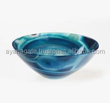 Wholesale Blue chalcedony Bowls