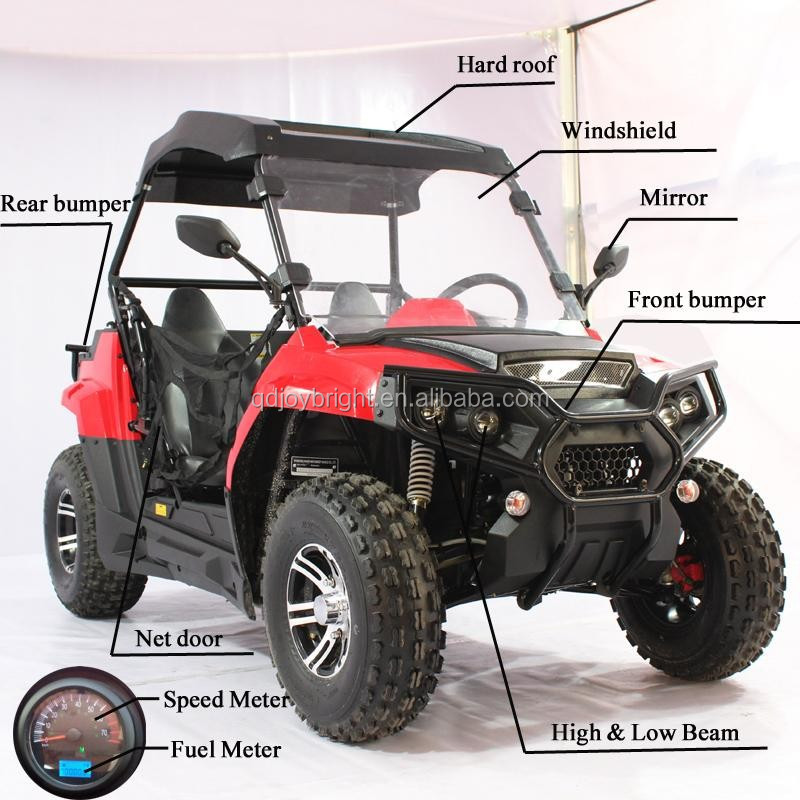 175cc EPA 2seats Dominator UTV 2WD,Double A-Arm,10