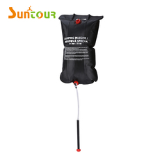 Outdoor Portable PVC Camping Shower Solar Heated Camping Shower Portable Solar Camping Shower