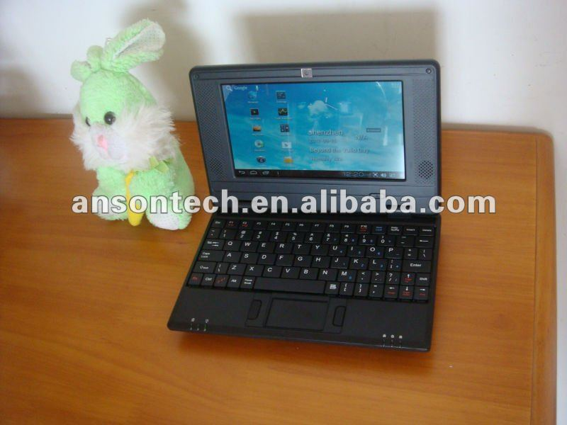 7 inch Android 4.0 WM8850 mini laptop for kids and students