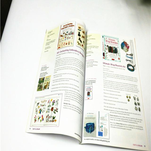 OEM hardcover custom book printing perfect binding english books