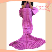 Amazon hot selling mermaid tail blanket prime with moderate price