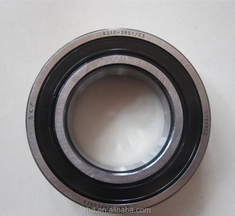 Single Row 6210 2rs1 Ball Bearing Motor Bearing View Ball