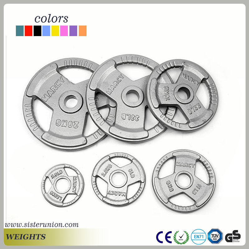Easy handling wholesale high standard weight plate