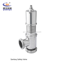 Stainless Steel Sanitary Relief/Safety Valve