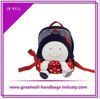 2013 children school bags with cartoon pictures and cartoon children backpack