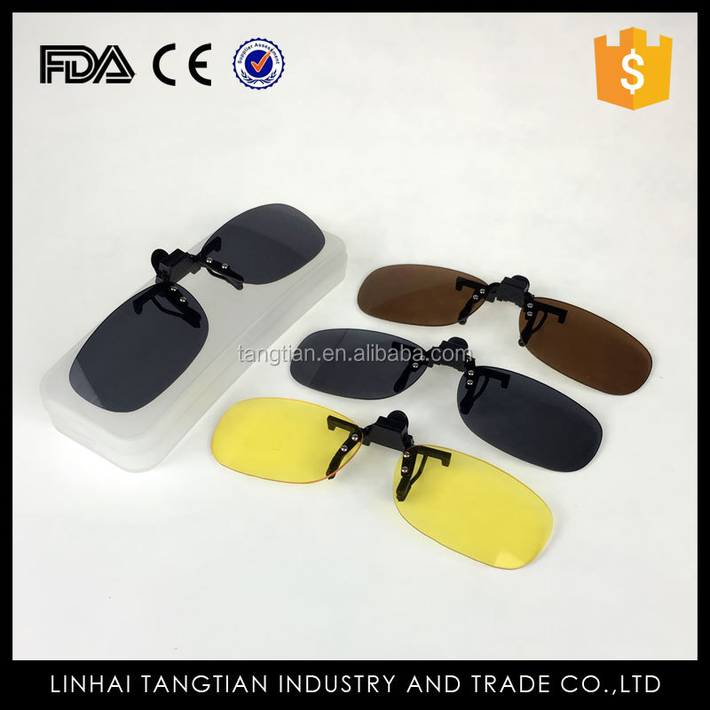 TTY-1106 Quality wholesale sunglasses flip up lenses on sunglasses clip up clamping piece glasses