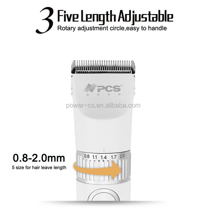 Professional fashion Hair Cutting Rechargeable Intelligent Waterproof hair Clipper