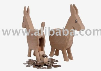 Donkey-Small Safe Wooden Toys