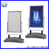 Double sided water base outdoor banner stand H16