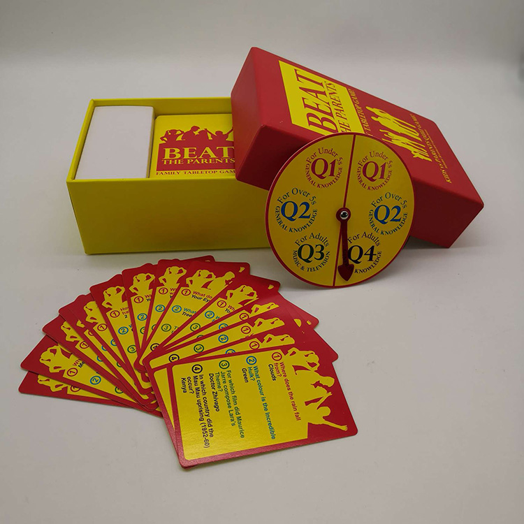 Design Making Cards Board Game Printing