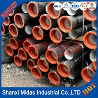 water supply ductile iron k9 tube