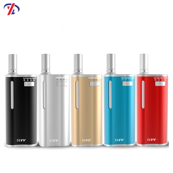 New arrival 5S VV cbd vape kits with 100% no leaking coil refillable cbd vape pen kits