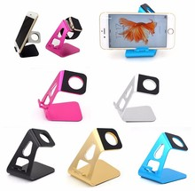 2 in 1 cradle dock station holder For apple watch aluminium stand charging stand for iPhone
