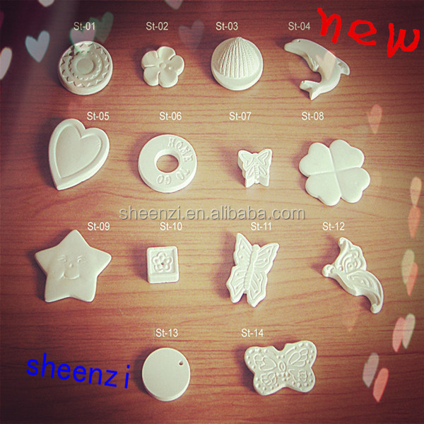 scented clay heart fragrance oil fragrance oil diffuser aroma stone