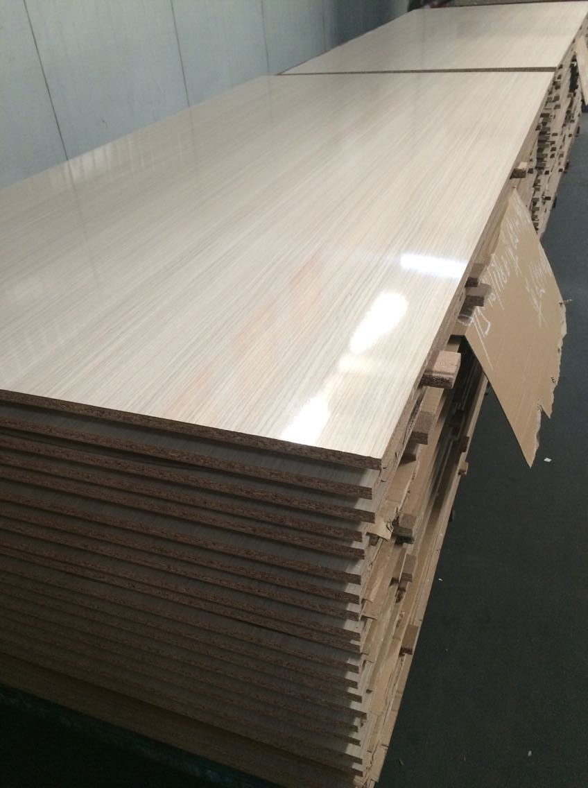 White Laminated Particle Board ~ Kitchen cabinets particle board high gloss melamine