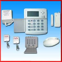 Fire Alarm System With 40 Defence Zones LCD Display Voiced Personal Alarm ,Smart Fire Alarm System