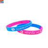 Custom made festival gift rubber wrist bands