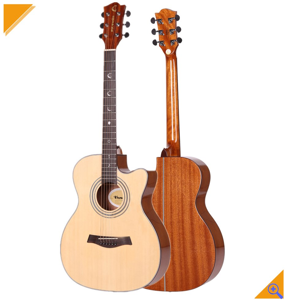 wholesale cutaway good price acoustic guitar 40 inch