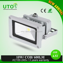 Thin type LED flood light 10W IP66 two years warranty
