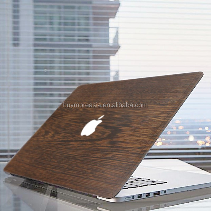 Eco-friendly natural wood case for macbook pro 13 inch for macbook wood skin