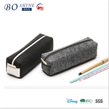 Dongguan Popular Europe eco-friendly felt pencil case for school students