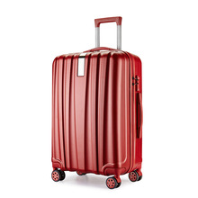 hot sale fashion urban abs trolley luggage bags & cases